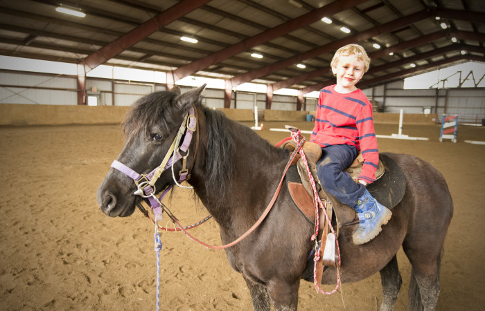Marmon Valley Farm: Head to the hills of Logan County for inexpensive, quality pony rides