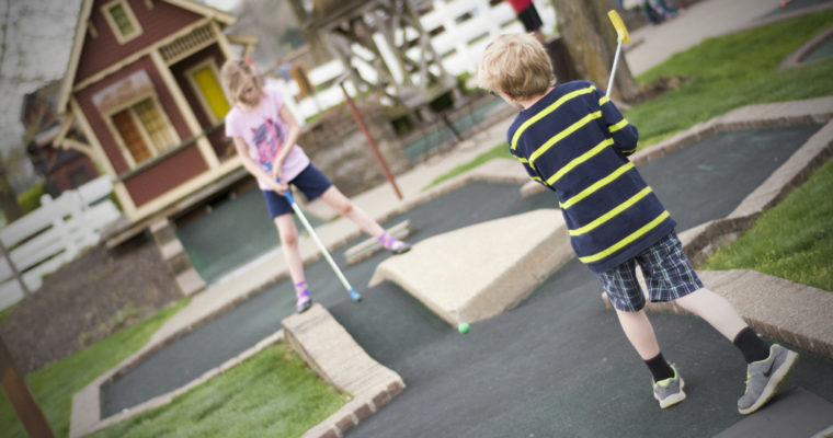 Westerville Golf Center: Well-manicured miniature golf course suitable for all ages