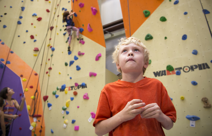 Vertical Adventures: Introduce youngsters to rock climbing at innovative, indoor facility