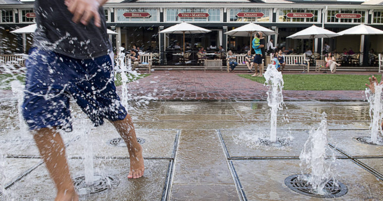 Brio Tuscan Grille: Easton location's fountain makes this fine-dining destination our top family-friendly restaurant for August