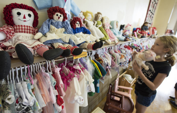Golden Hobby Gift Shop: Find handmade merchandise by local seniors including apparel for 18-inch dolls