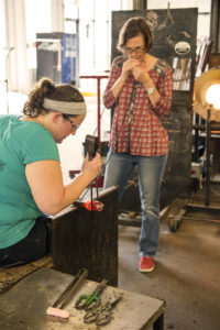 Glass Axis: Have a ball playing with fire at Franklinton art center