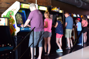 16-Bit Bar+Arcade: Kids welcome summer Sundays